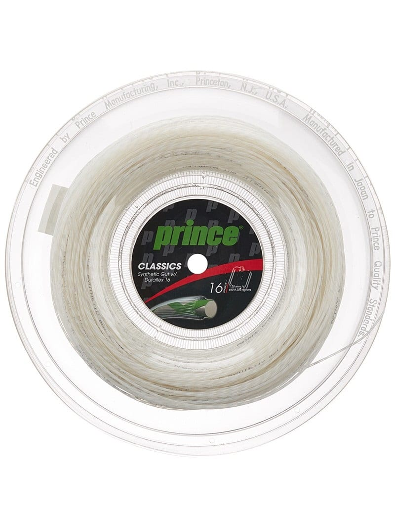 Prince Synthetic Gut Duraflex 16 Reel | SPORTSMATCH