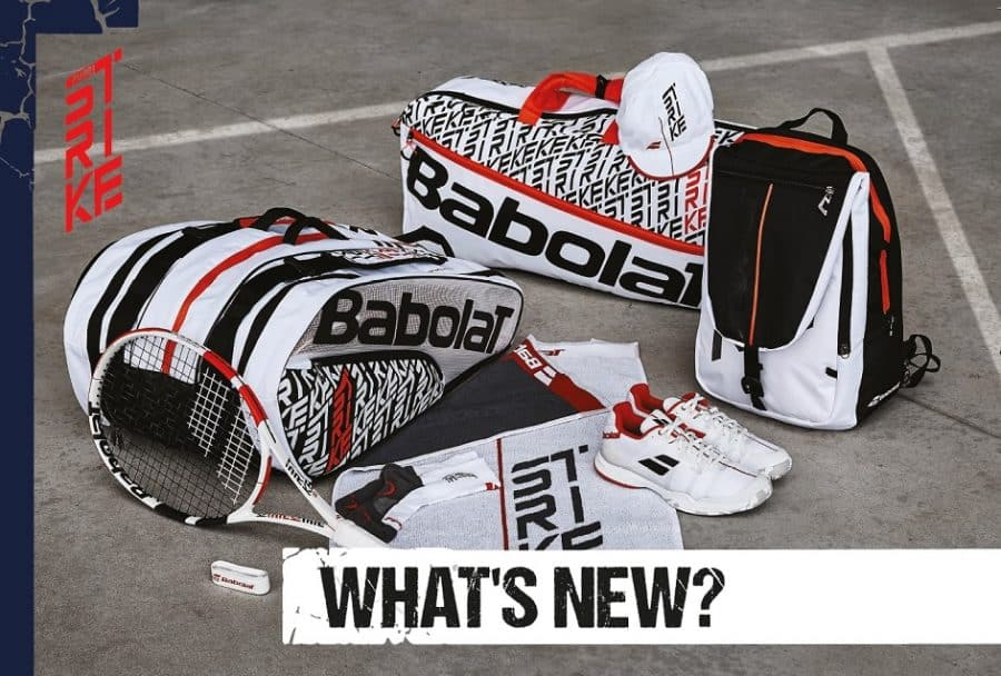 Babolat Strike Poster_What's New