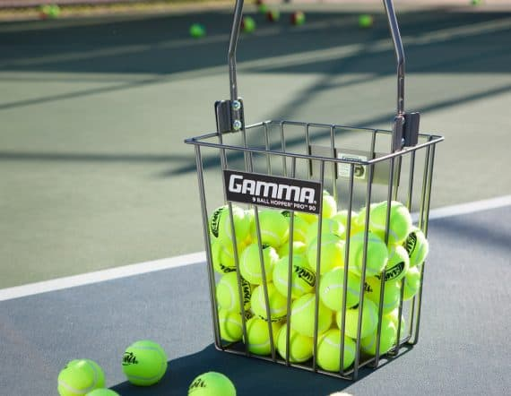 GAMMA TENNIS BALL HOPPER